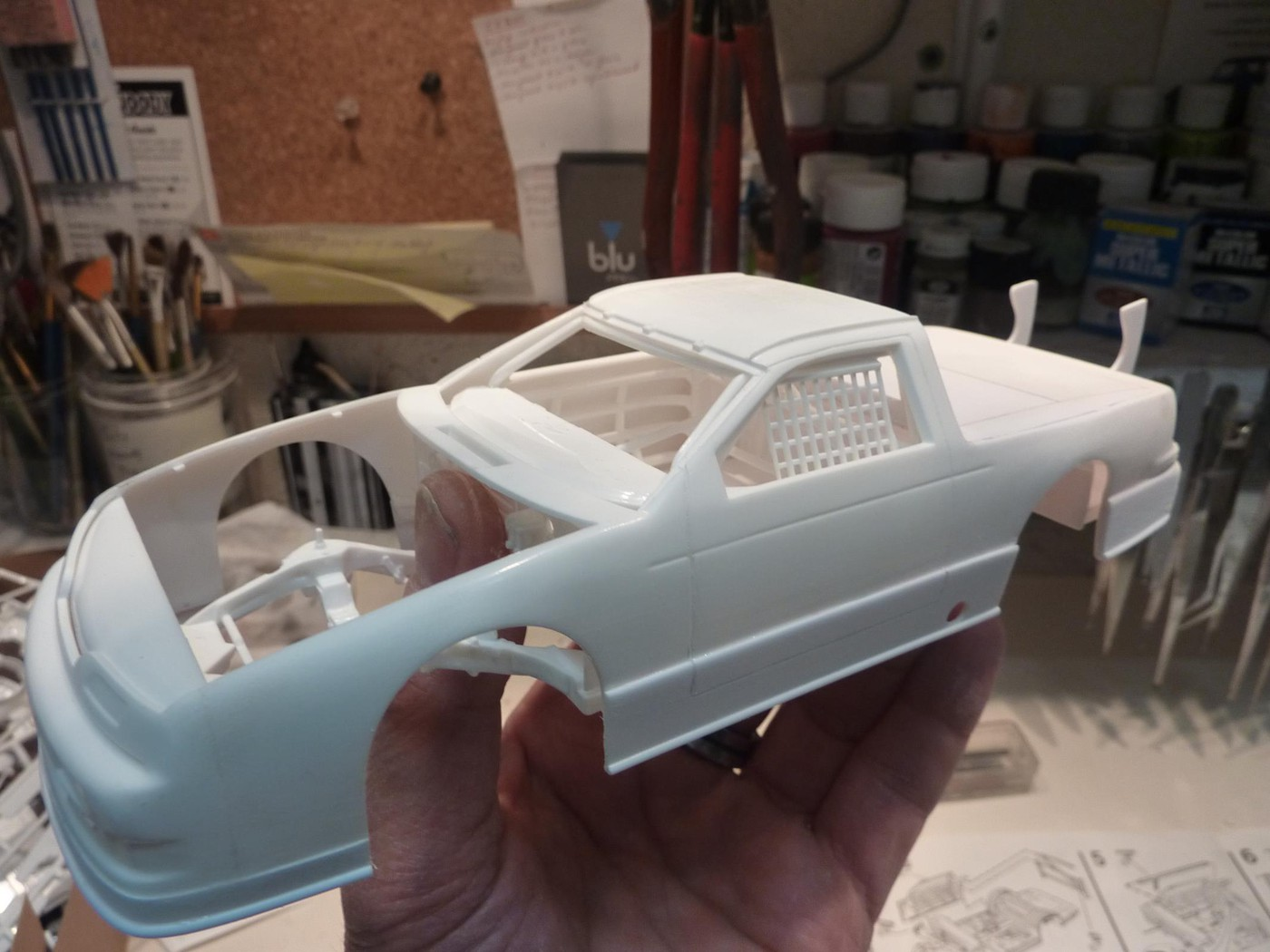 Ford T Bird Pickup racer Bonneville ( Ex Nascar) terminée  Photo18-vi