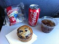 No Free Meals Anymore.  Or for that fact anything.  A soda and Muffin 4 bucks.  2.5 hrs to Florida and 2.5 hours to Guatemala, 1 hour drive to Antigua.