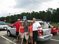 Dave, Patti, Sherryl, Michelle and me... at a Parkway Pit Stop '-)))