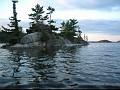 Sunset on Charleston Lake