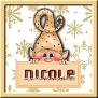 Nicole-Gold Elf Name Frame2-KarenMadeMe