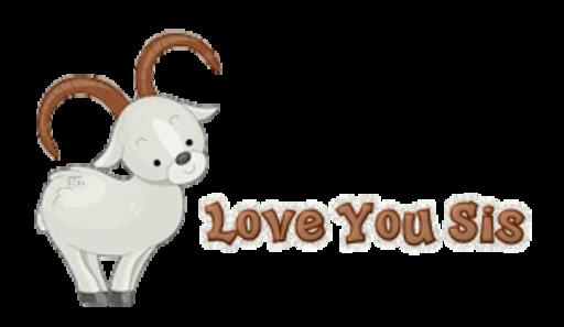 Love You Sis - BighornSheep