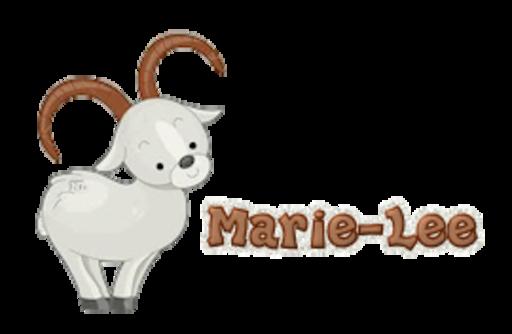Marie-Lee - BighornSheep