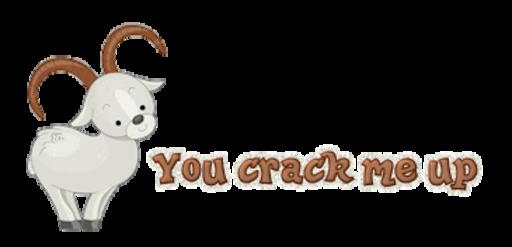 You crack me up - BighornSheep