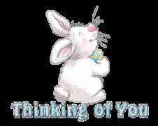 Thinking of You - HippityHoppityBunny