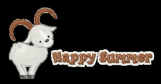 Happy Summer - BighornSheep