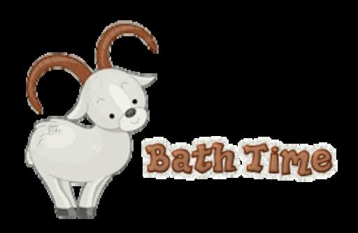 Bath Time - BighornSheep
