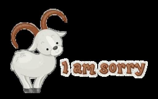 I am sorry - BighornSheep