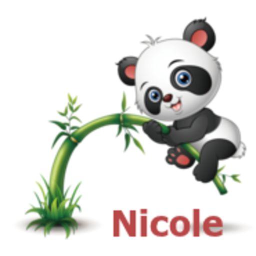 Nicole - Panda - Vicki-May 13,2018