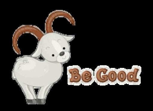 Be Good - BighornSheep