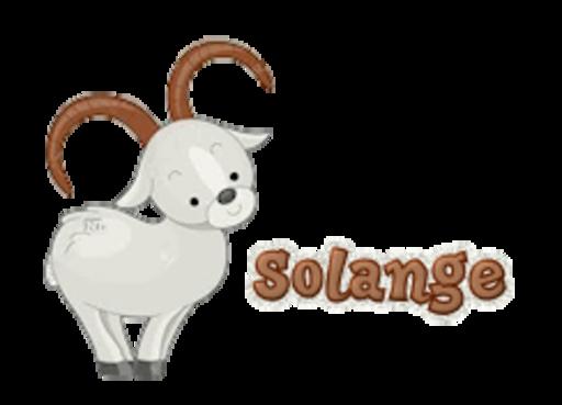 Solange - BighornSheep