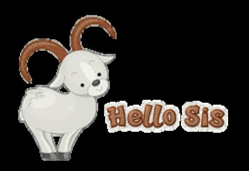 Hello Sis - BighornSheep