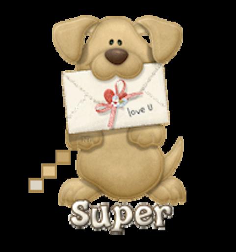 Super - PuppyLoveULetter