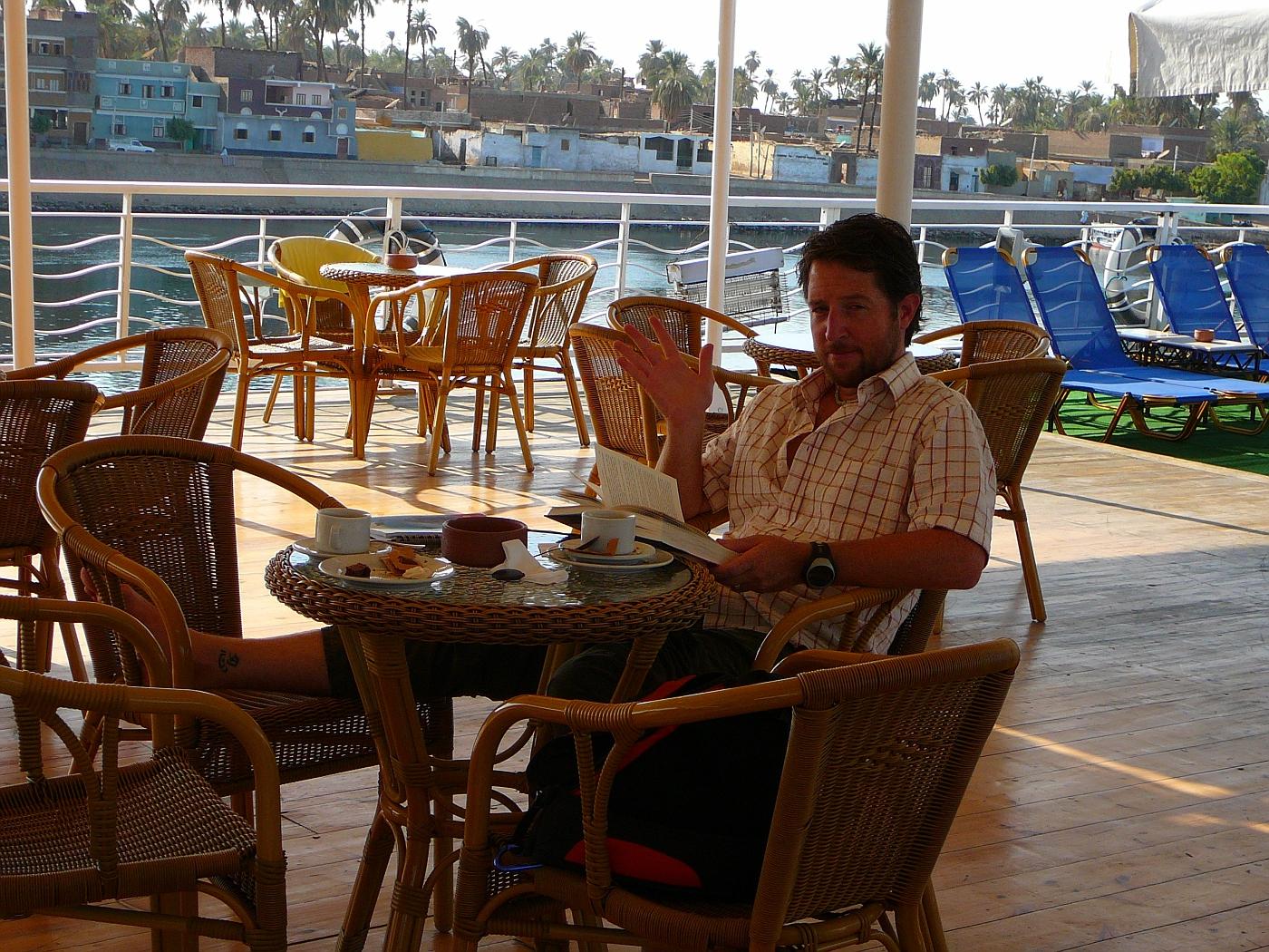 Troy on Nile Cruise