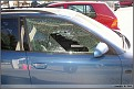 20050922 - Main Street, Vancouver, BC- Shattered Front Passenger Window