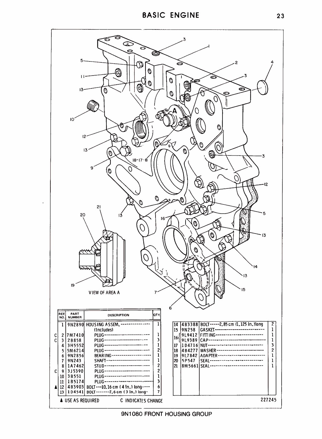 Photo 3208 Parts Manual Pagina 063 Cat 3208
