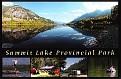 BRITISH COLUMBIA - Summit Lake Provincial Park