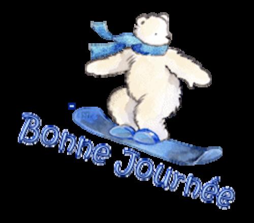 Bonne Journee - SnowboardingPolarBear