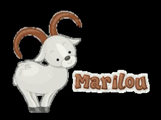 Marilou - BighornSheep
