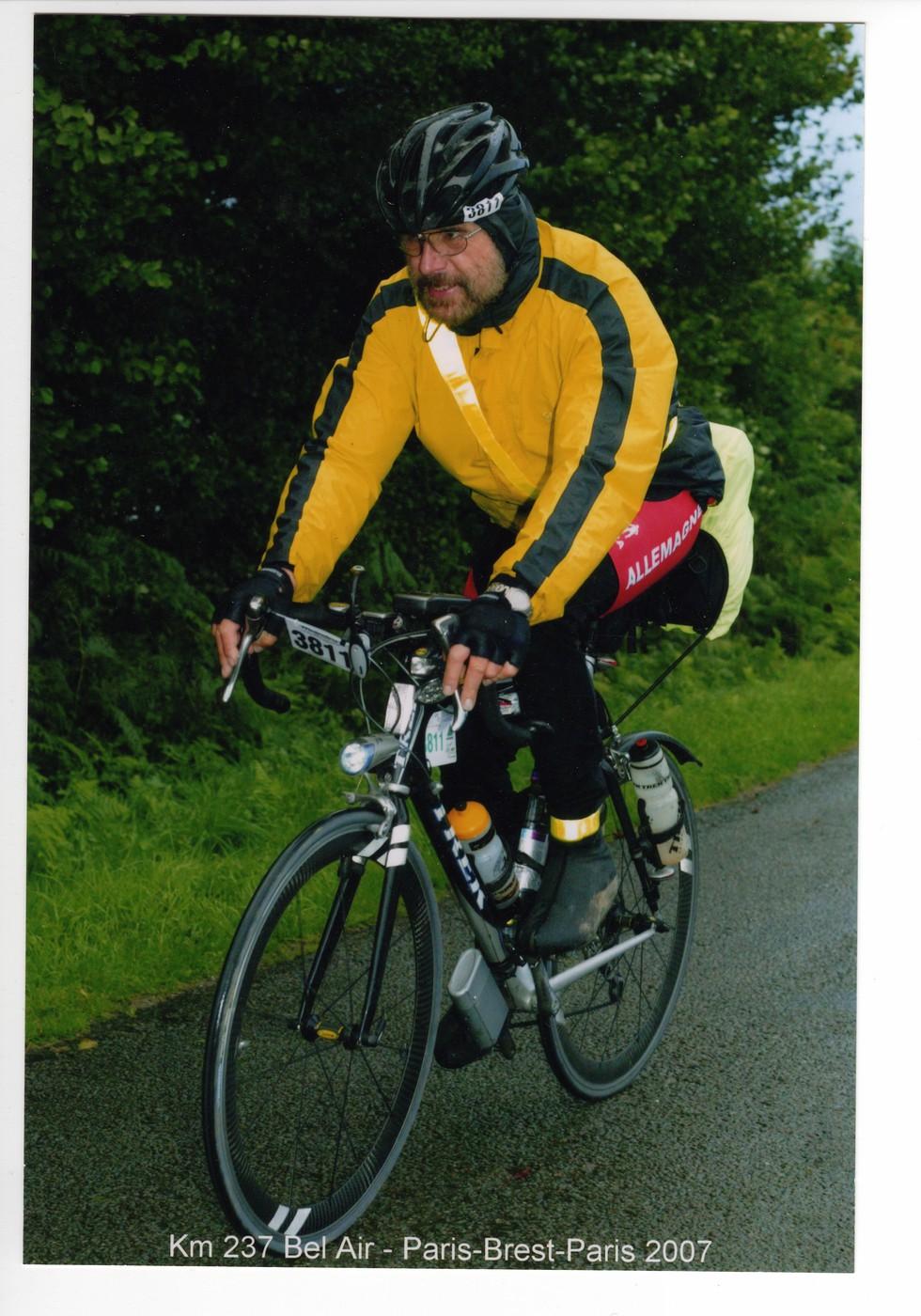 Manfred en route PBP 2007