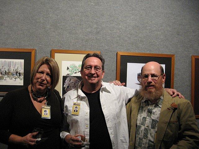 Carol [Keslo] Speed, Andy Marino & Gary Weinstein