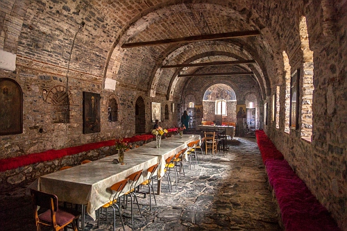 The Monastery of Agios Panteleimon