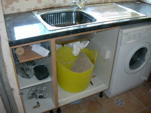 New sink's nearly done
