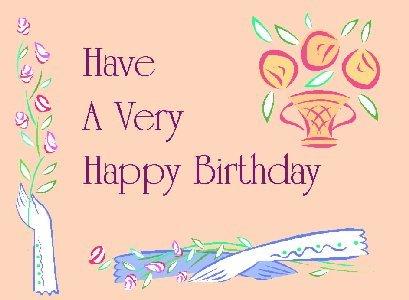 Написать поздравление с днем рождения на английском языке