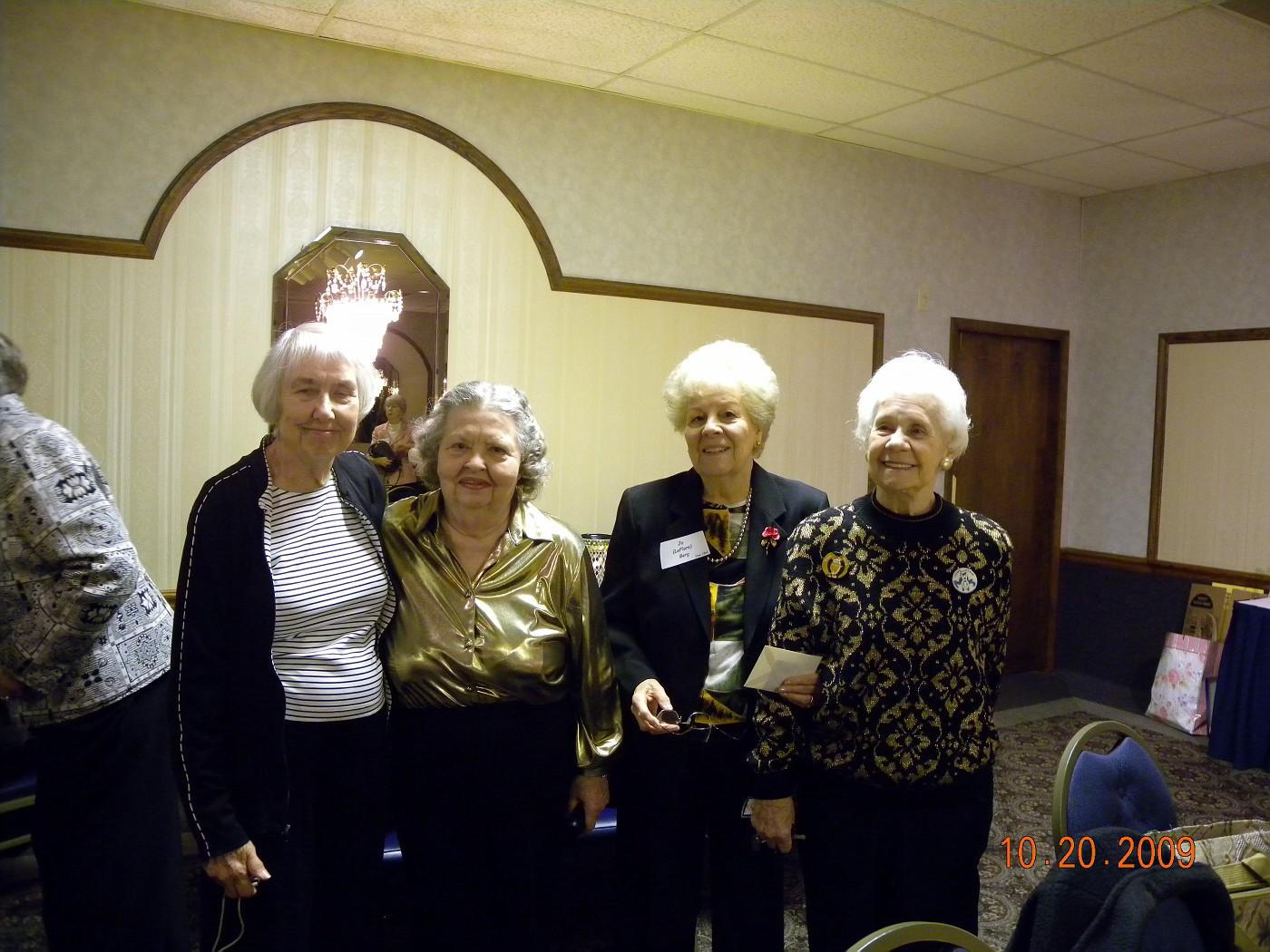 Marjorie Green, Dorothy Meyer, Jo Berg, Imogene Yakopovic