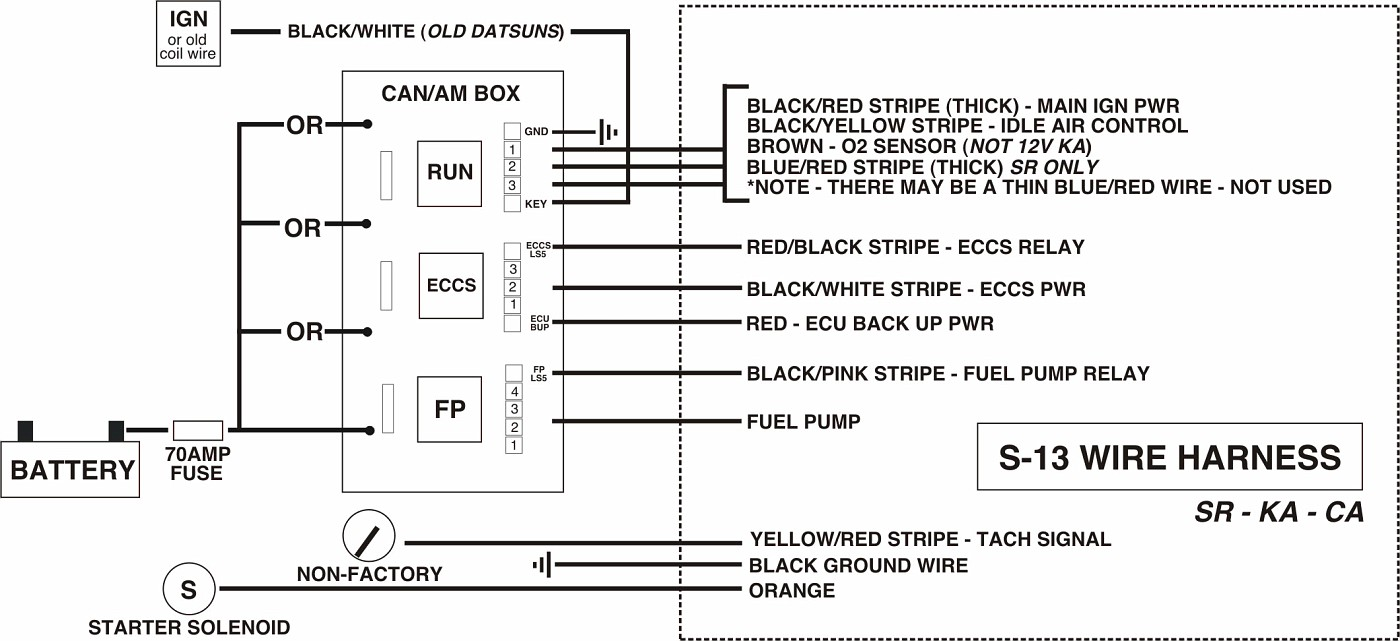 How To Wire A Ka Ca Sr And Vg Into Anything Page 13 Fuse Box Location Srdiagram Vi