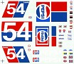 1976 Lennie Pond Pepsi Unknown Decal Maker  503