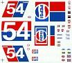 1976 Lennie Pond Pepsi Unknown Decal Maker  503