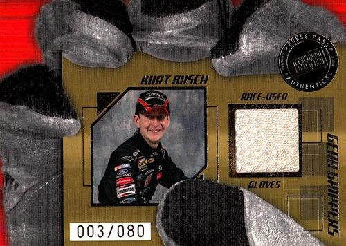 Glove Kurt Busch 2005