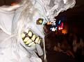 "Winner of ""Scariest"" costume"