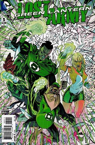 Green Lantern Lost Army #5