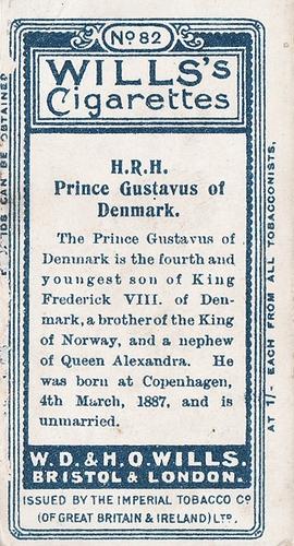 1908 Wills European Royalty #082 (2)