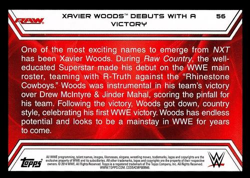 2014 Topps Road to Wrestlemania #056 (2)
