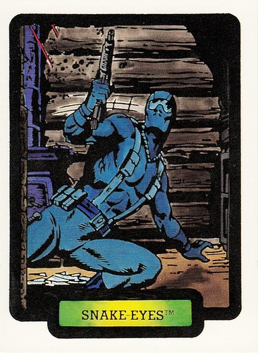 1987 Comic Images GI Joe #20 (1)