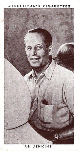 1939 Churchman's Kings of Speed #14 (1)