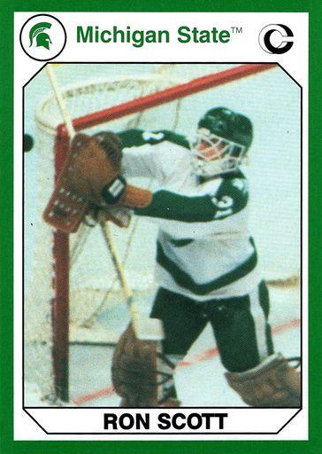 1990 Collegiate Collection Michigan State Promos #01 (1)