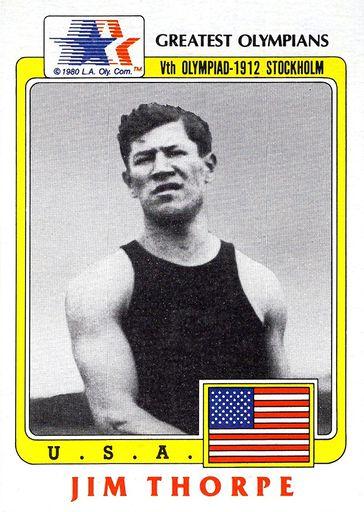 1983 Topps Greatest Olympians #37 (1)