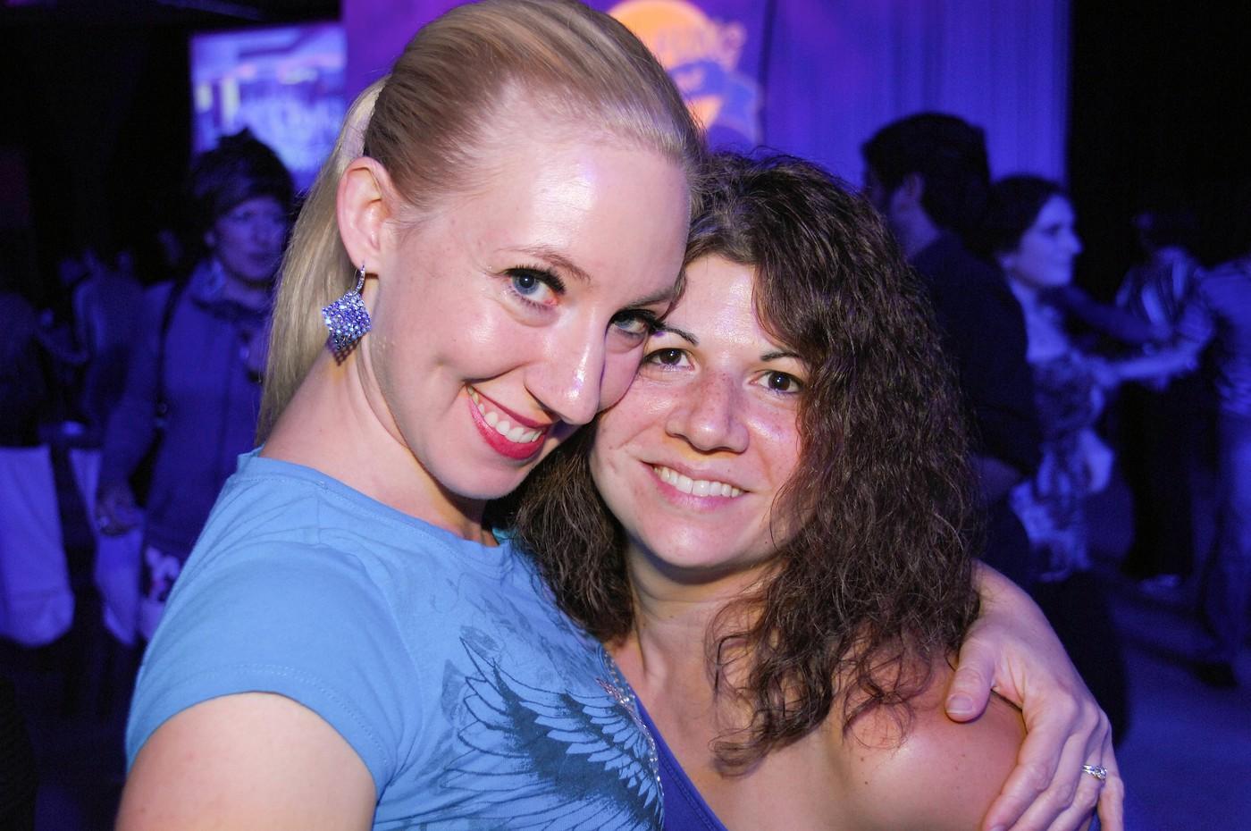 Anna Novoa & Kim Brolet at Swing Fling 2012