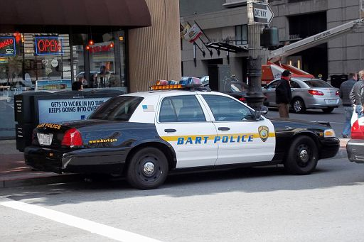 CA - BART Police 2008 Ford