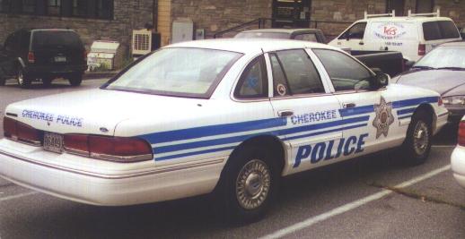 US - Cherokee Indian Police