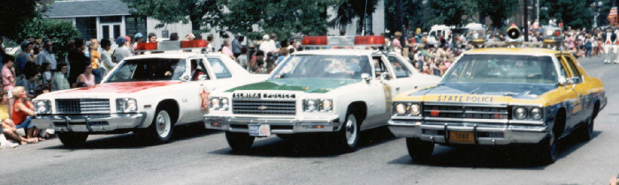 NY - Chemung Co. Parade, various agencies