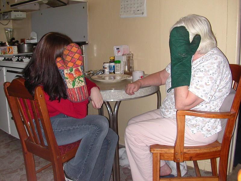 Lisa and Grandma Nov 28 2002