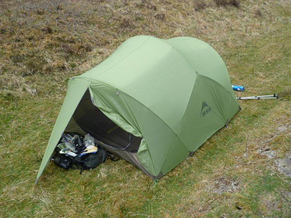 Also for sale is a Terra Nova Quasar but will post separately. & FS: MSR Mutha Hubba 3 person tent