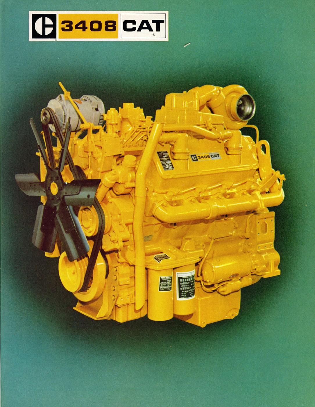 Caterpillar 3408 Truck Engine Caterpillar Engine