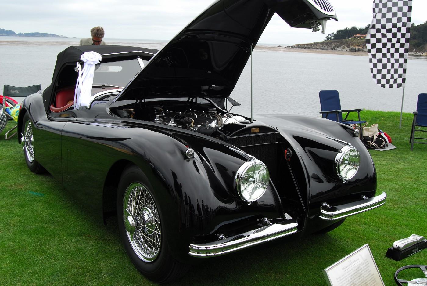 1953 Jaguar XK120 Roadster front exterior view