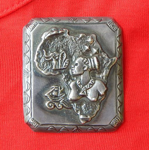 Vintage Birger Haglund South African Sterling Silver Brooch